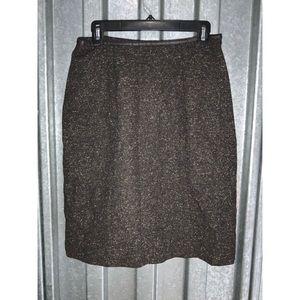 VTG Apostrophe Wool Pencil Skirt Sz 8